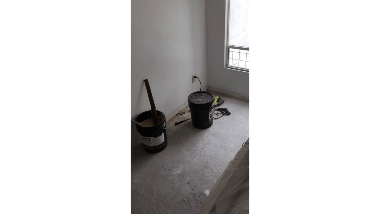 Material para colocación de piso laminado