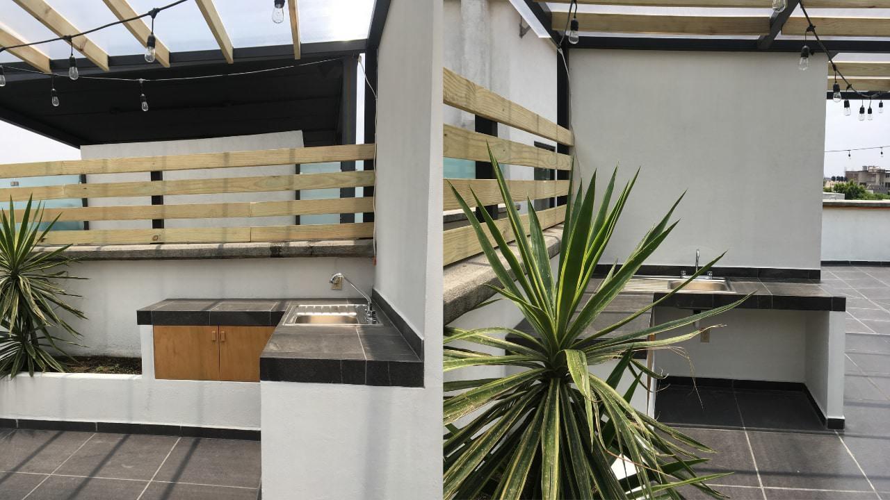 Cocina roof garden obrero mundial