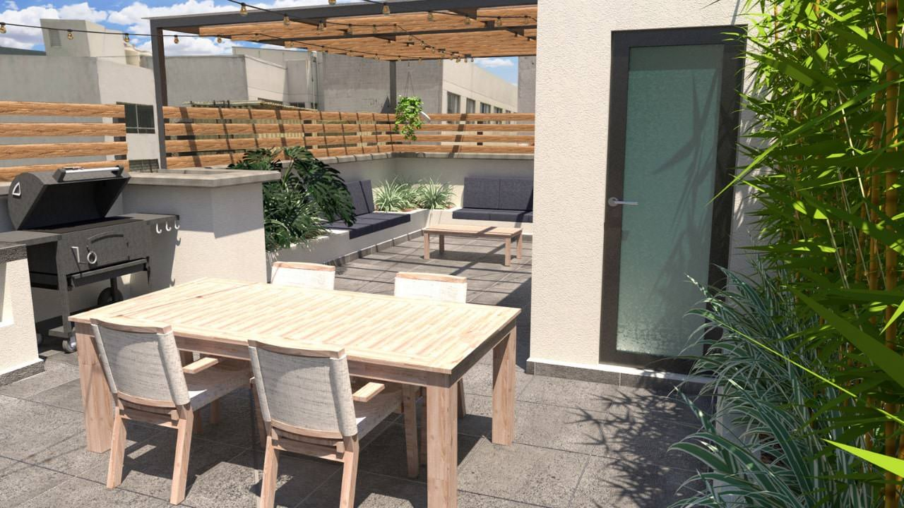 Comedor bodega roof garden obrero mundial