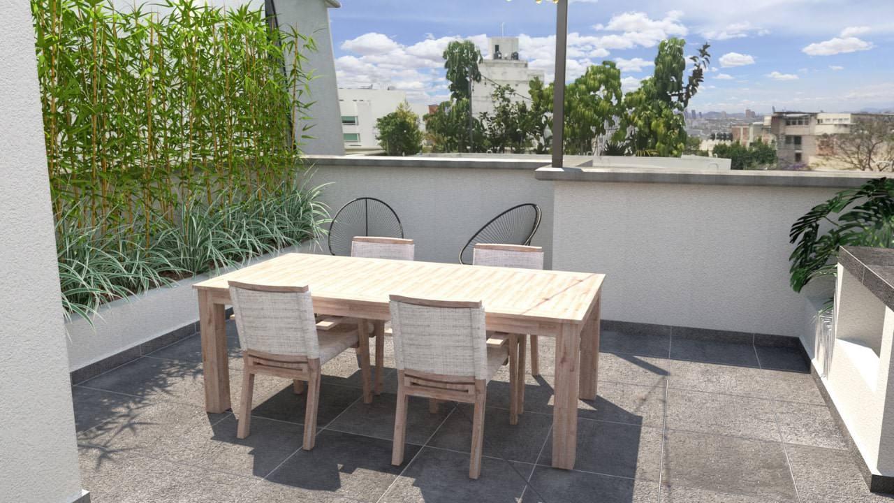 Comedor roof garden obrero mundial