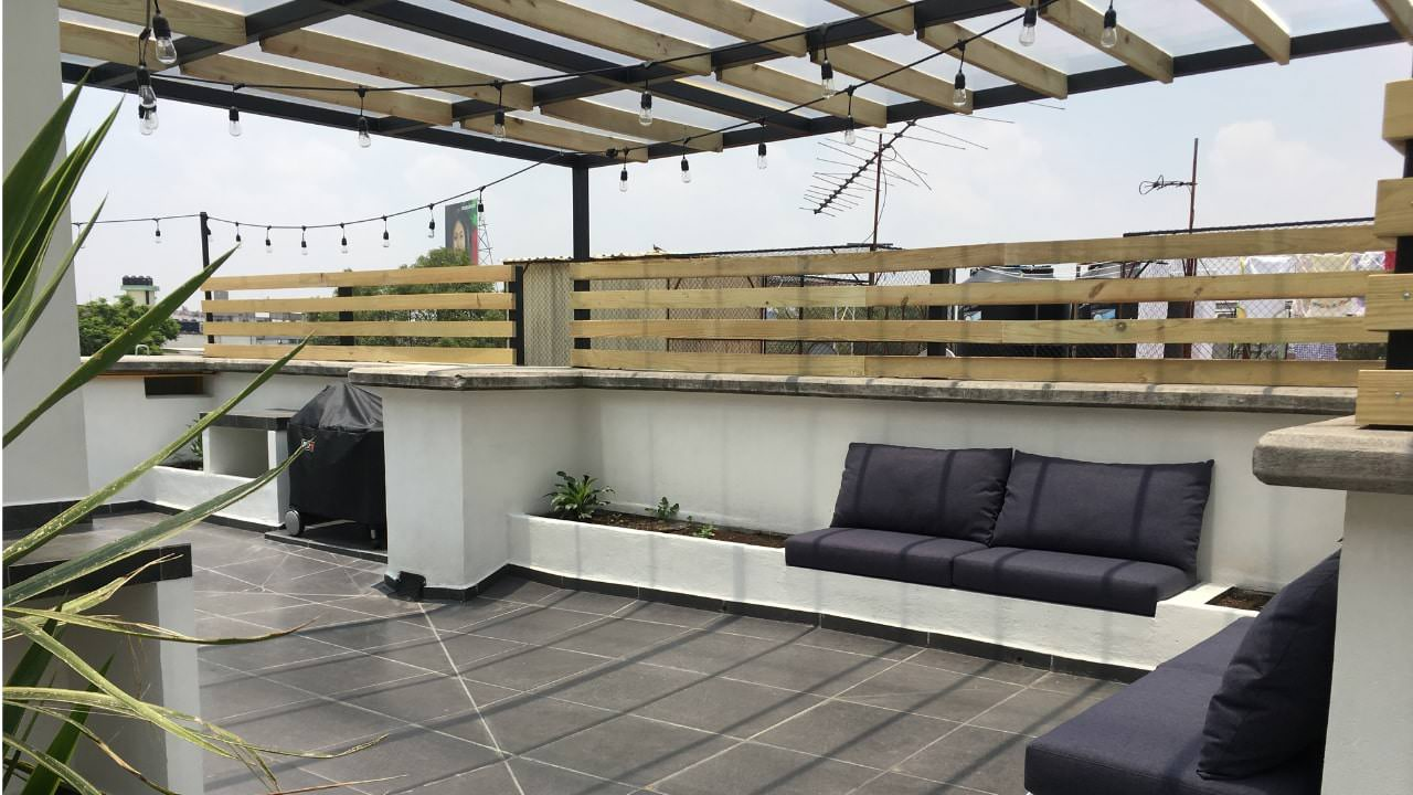 Sala asador roof garden obrero mundial