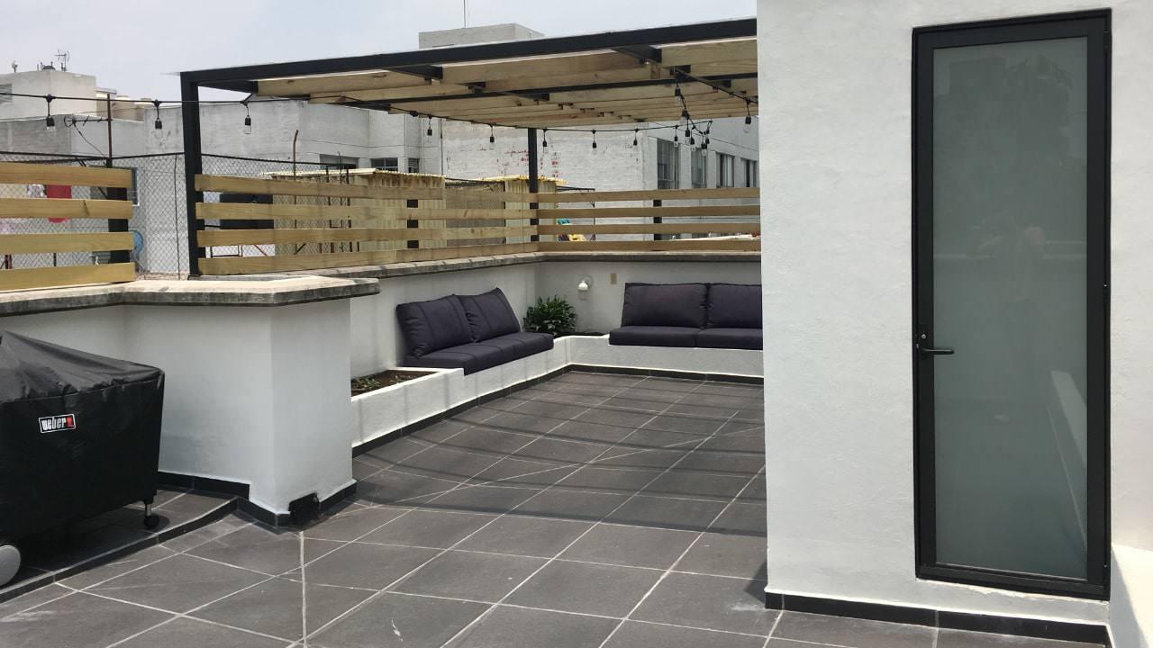 Sala bodega roof garden obrero mundial