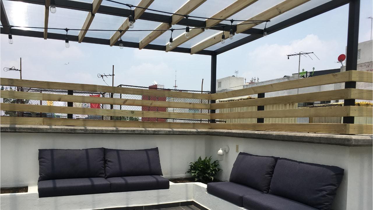 Sala roof garden obrero mundial
