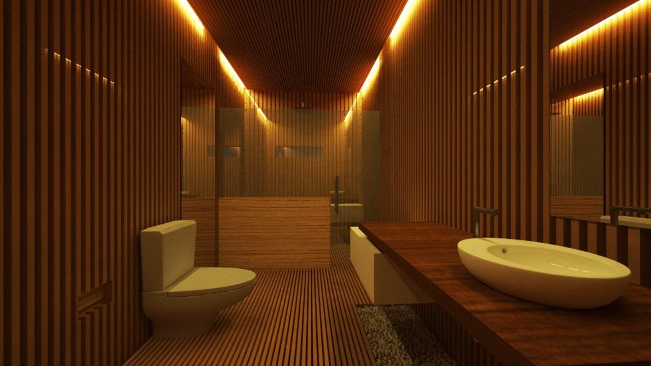 Baño oficinas arquimides
